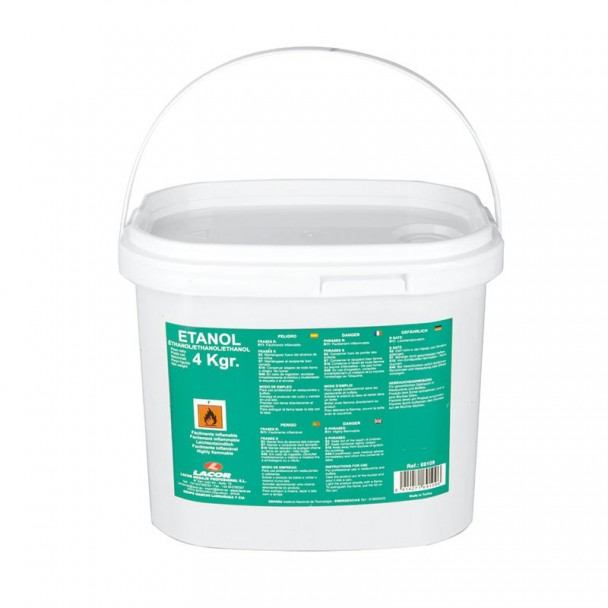 Secchiello 4 kg di Combustibile del Gel di Etanolo