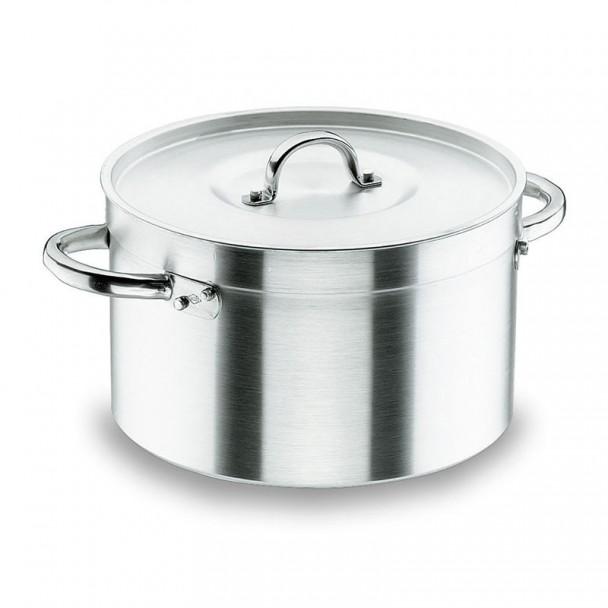 Pentola Alta con Coperchio Chef-Alluminio