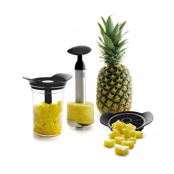 Gioco Cutter-Pelatrice di Ananas con Base