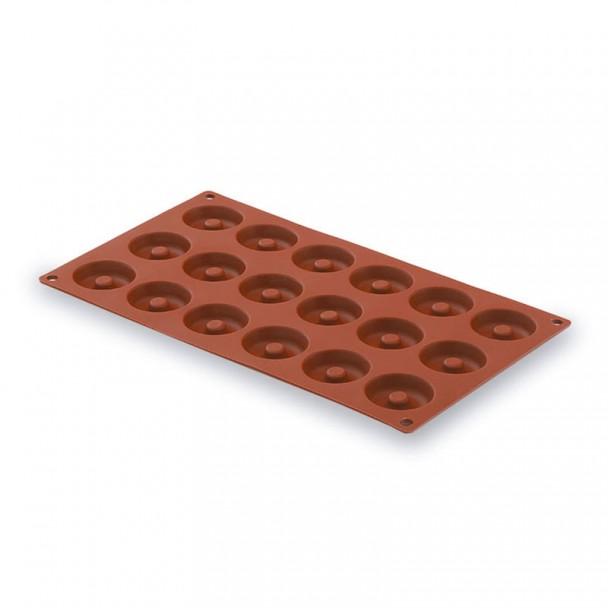 Stampo Mini Savarin 15 Cavità Silicone Pastryflex