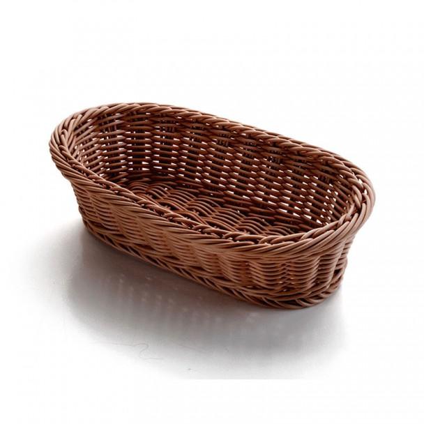 Il cestino del pane Ovale Marrone