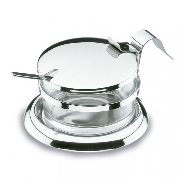 Formaggio Parmigiana con il Cucchiaio in acciaio Inox