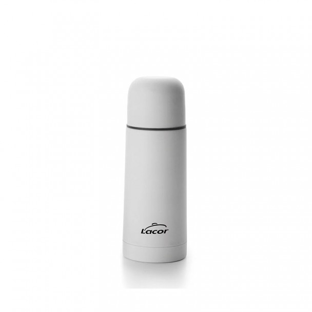 Thermos Soft Touch Bianco Inox 18/10