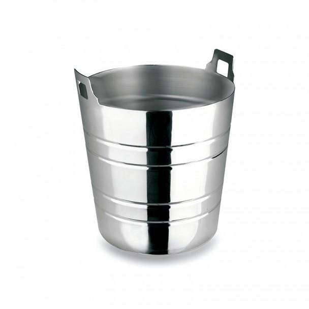 Cubo, Cono in acciaio Inox con Built-in e Maniglie