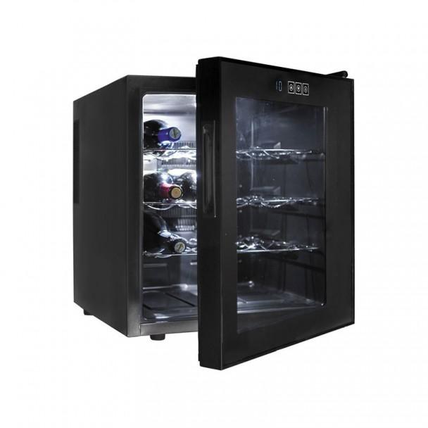 Armadio frigorifero 46 l/70 W - 16 Bottiglie di Nero Linea