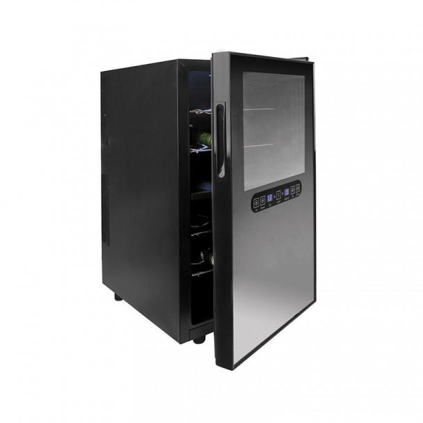 Armadio frigorifero 48 l/100 W - 18 Bottiglie Linea Nera
