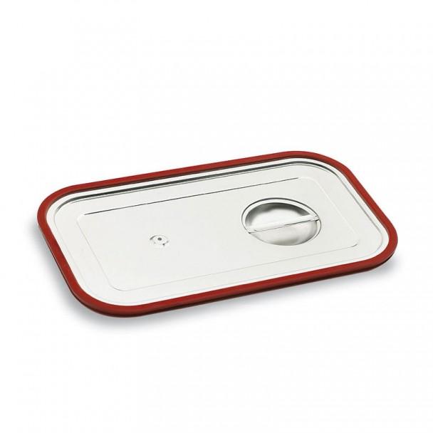 Coperchio in acciaio Inox Gastronorm con Guarnizione in Silicone