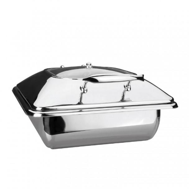 Corpo Scaldavivande Luxe In Acciaio Inox Gastronorm 2/3