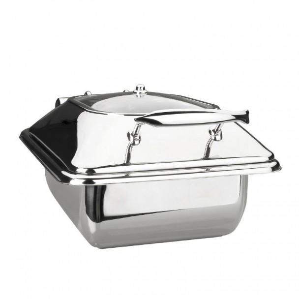 Corpo Scaldavivande Luxe In Acciaio Inox Gastronorm 1/2